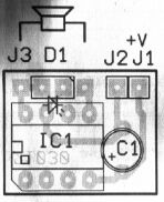 Schéma: Pískajúca klúčenka